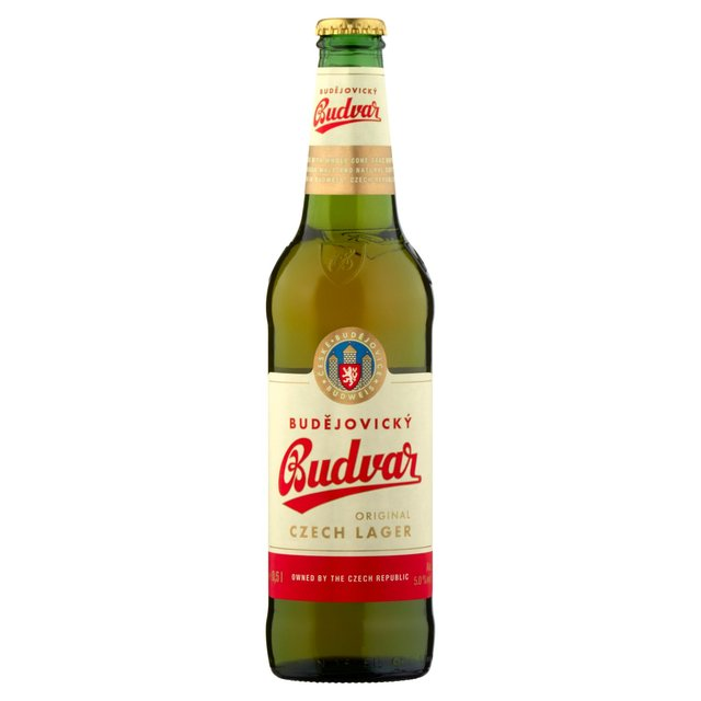 Morrisons: Budweiser Budvar Beer Bottle 500ml(Product