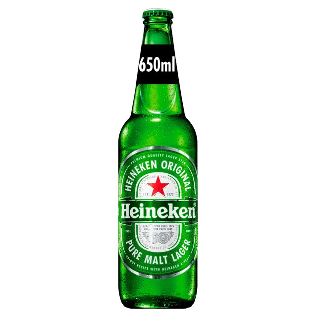 Heineken Premium Lager Beer Bottle