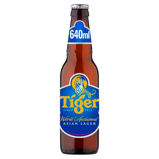 Tiger Asian Lager Beer Bottle