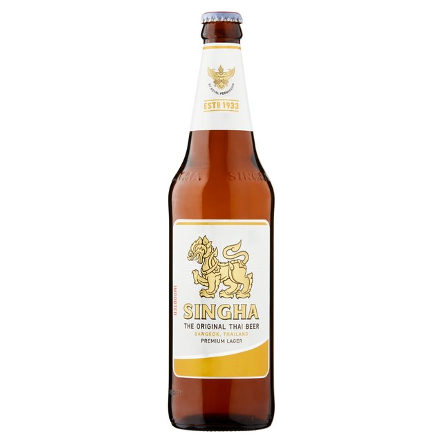 Singha Thai Beer Bottle