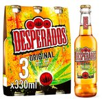 Desperados Tequila  Lager Beer Bottle
