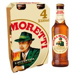 Birra Moretti Bottles, Delivered Chilled