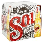 Sol Original Lager Beer Bottle