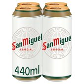 San Miguel Cans