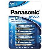 Panasonic Evolta Alkaline LR6EGE/4BP - AA 4 Pack