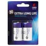 Morrisons Extra Long Life Alkaline Batteries C