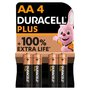 Duracell Plus Power AA Alkaline Batteries