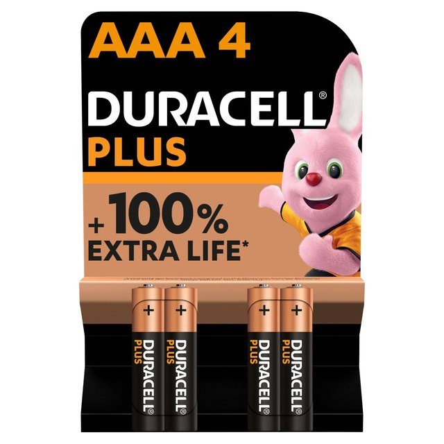 Duracell Plus AAA Batteries