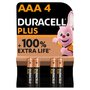 Duracell Plus Power AAA Alkaline Batteries