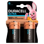 Duracell Ultra Power D Alkaline Batteries
