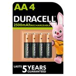 Duracell Rechargeable AA Pre Charged Batteries
