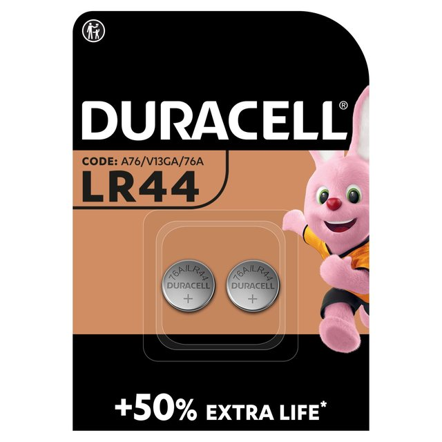 Duracell Specialty LR44 Batteries