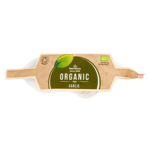 Morrisons Organic Garlic