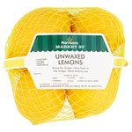 Morrisons Unwaxed Lemons Bumper Pack