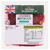 Morrisons Natural Cooked Beetroot
