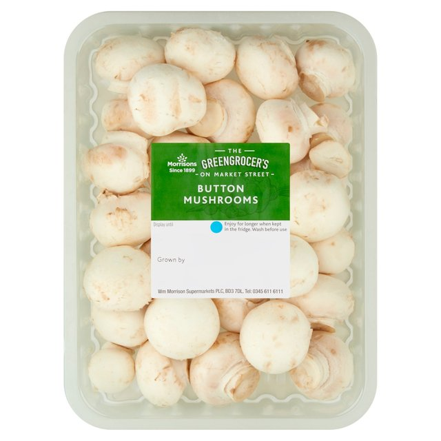 Morrisons Button Mushrooms