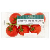 Morrisons Vine Ripened Large Tomatoes Min.