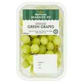 Morrisons Seedless Green Grapes