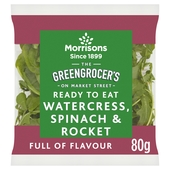 Morrisons Watercress, Spinach & Rocket