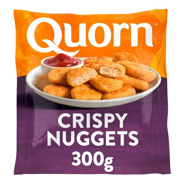 Morrisons: Quorn Crispy Nuggets 300g(Product Information