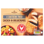Morrisons 4 Southern Fried Chicken Steaks