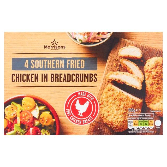 Morrisons 4 Southern Fried Chicken Steaks
