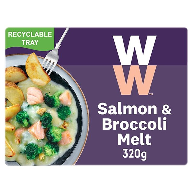 Heinz Weight Watchers  Salmon & Broccoli Melt