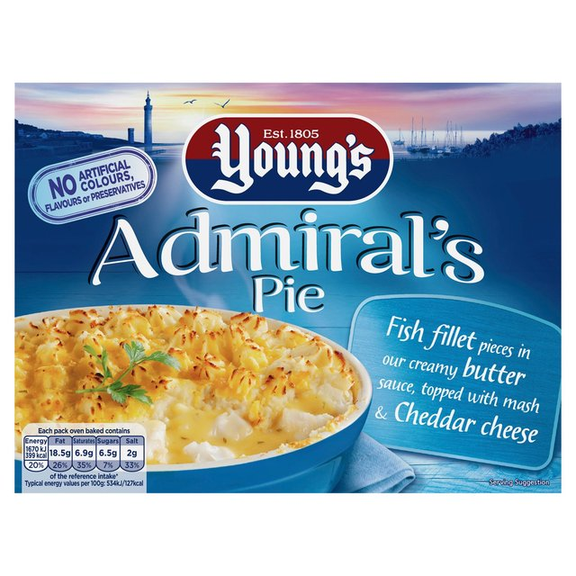 Youngs Admiral's Pie