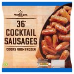 Morrisons 36 Cocktail Sausages