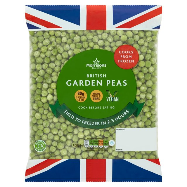 Morrisons Morrisons Garden Peas 500gProduct Information