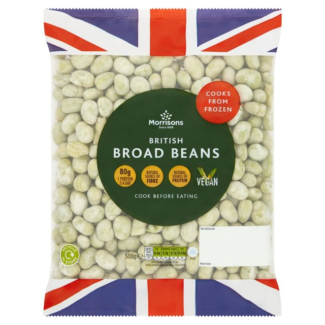 Morrisons: Morrisons Broad Beans 500g(Product Information)