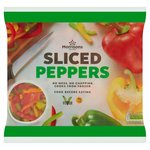 Morrisons Sliced Mixed Peppers