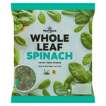 Morrisons Frozen Whole Leaf Spinach