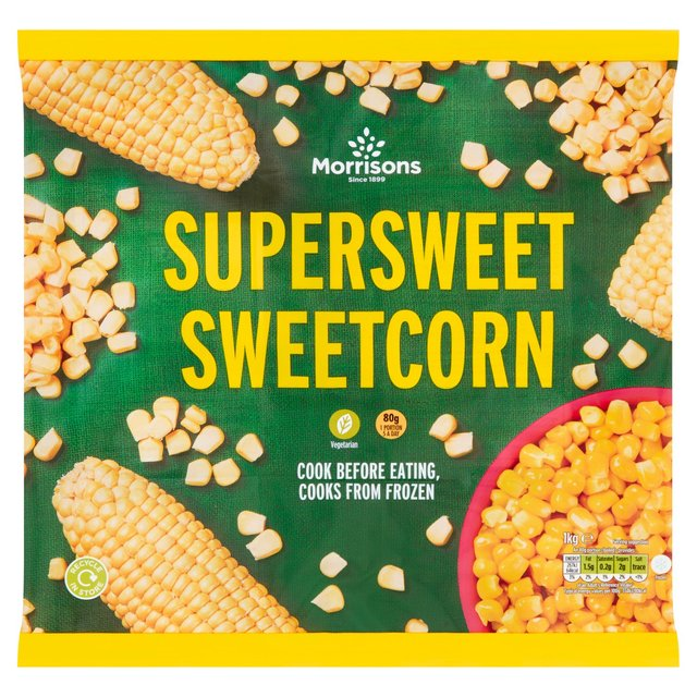Morrisons Super Sweet Sweetcorn