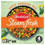 Birds Eye Steamfresh 4 Super Sunshine Vegetable Mix