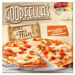 Goodfella's Extra Thin Mozzarella & Pesto Pizza