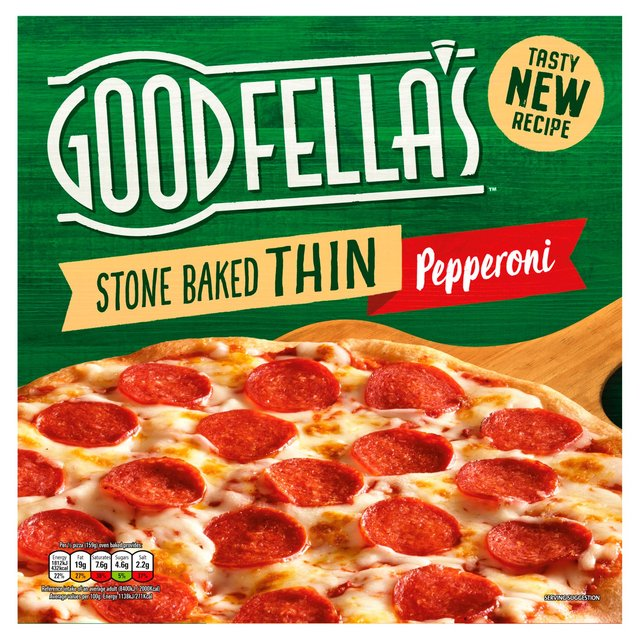 Goodfella's Stonebaked Thin Pepperoni Pizza