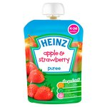 Heinz 4-36 Month Apple and Strawberry Puree