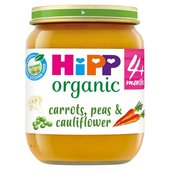 HiPP Organic 4 Mths+ Mixed Vegetable Medley