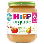HiPP Organic 4 Mths+ Apple & Pear Pudding