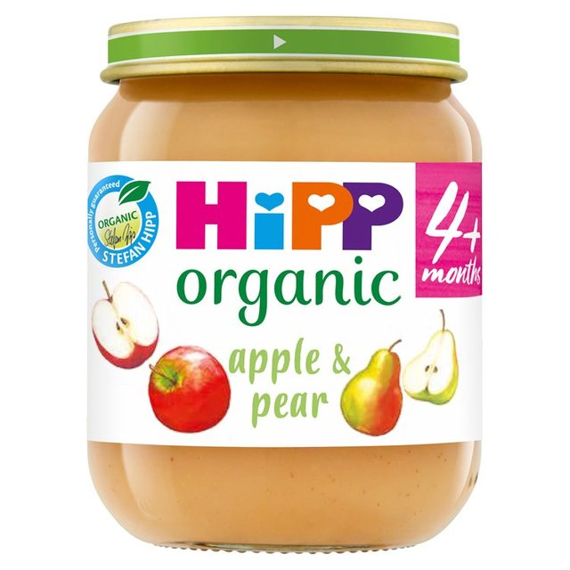 Morrisons Hipp Organic 4 Mths Apple Amp Pear Pudding 125g
