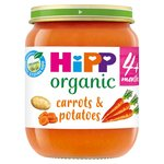 HiPP Organic 4 Mths+ Tender Carrots & Potatoes