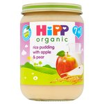 HiPP Organic Rice 7 Mths+ Pudding with Apple & Pear