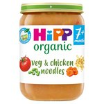 HiPP Organic 7 Mths+ Vegetables with Noodles & Chicken