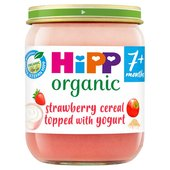 HiPP Organic 7 Mths+ Breakfast Duet Strawberry Muesli