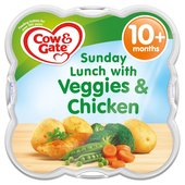 Cow & Gate Sunday Lunch with Veggies & Chicken Baby Meal Tray