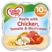 Cow & Gate Pasta with Chicken Tomato & Mushroom Baby Meal Tray