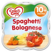 Cow & Gate Spaghetti Bolognese Baby Meal Tray