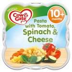 Cow & Gate Pasta with Tomato Spinach & Cheese Baby Meal Tray