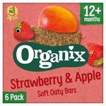 Organix Strawberry Organic Soft Oat Snack Bars Multipack